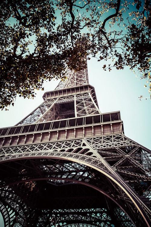 Paris - Eiffel Tower Steklena slika