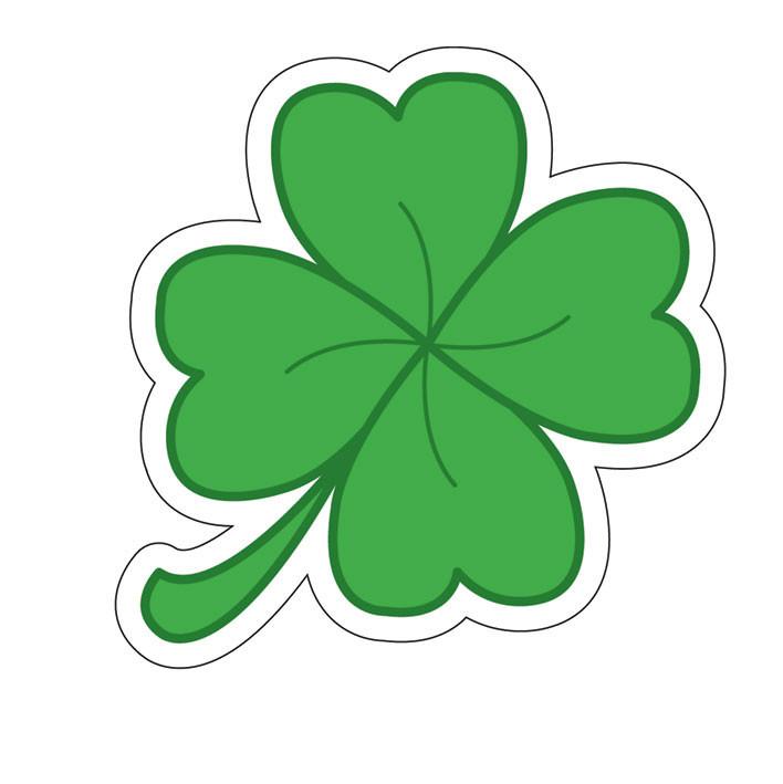 Bestel Een Four Leaf Clover Sticker Op Europostersbe