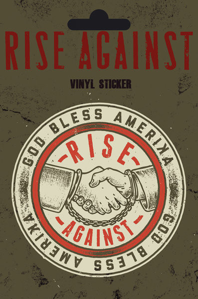 Rise Against - Shaking Hands sticker