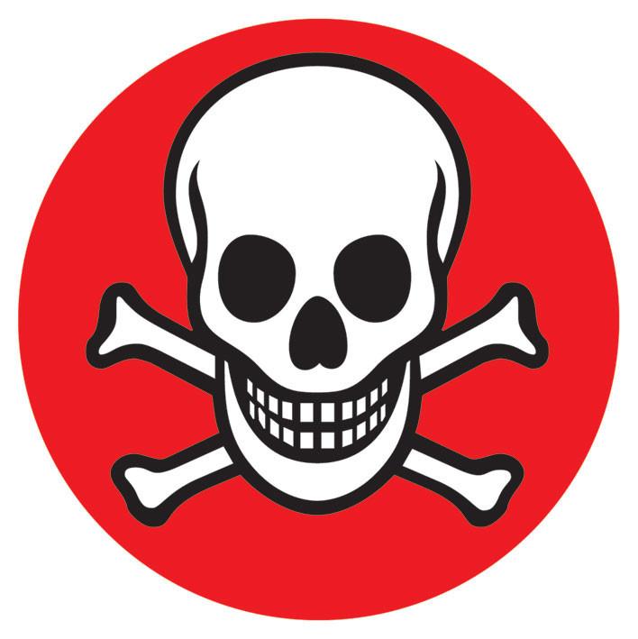 Bestel Een Skull Crossbones Sticker Op Europostersbe
