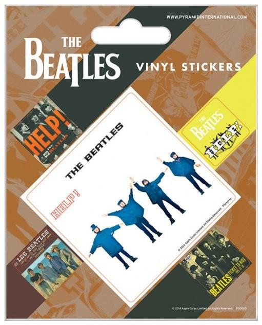 The Beatles - Help! sticker