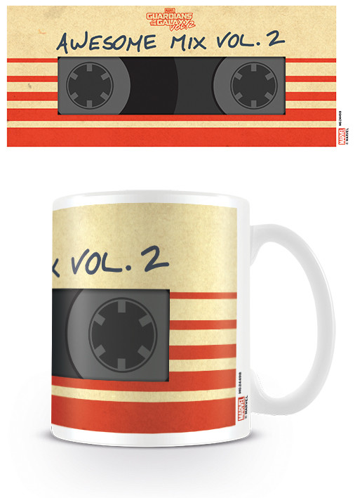 Kubek Strażnicy Galaktyki vol. 2 - Awesome Mix Vol. 2