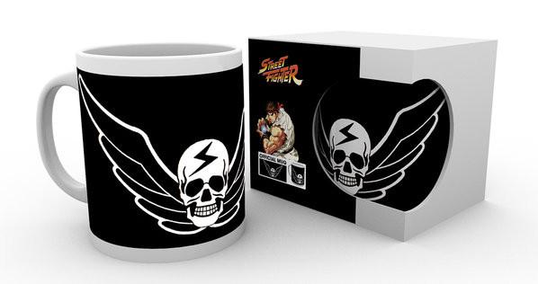 Hrnek Street Fighter - Skull
