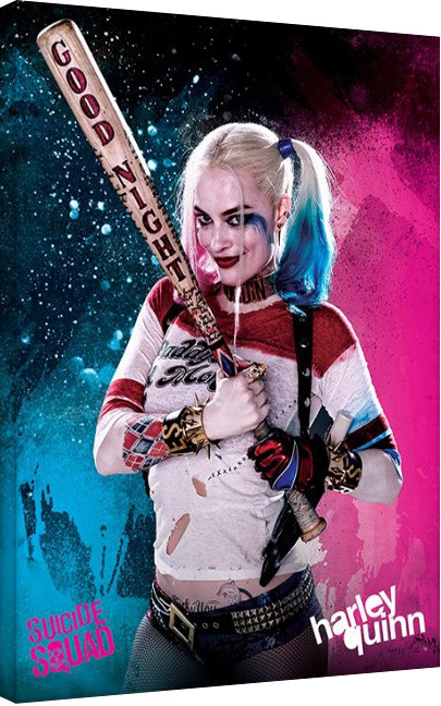 Leinwand Poster Suicide Squad - Harley Quinn