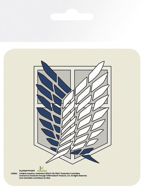 Attack On Titan (Shingeki no kyojin) - Badge Suporturi pentru pahare