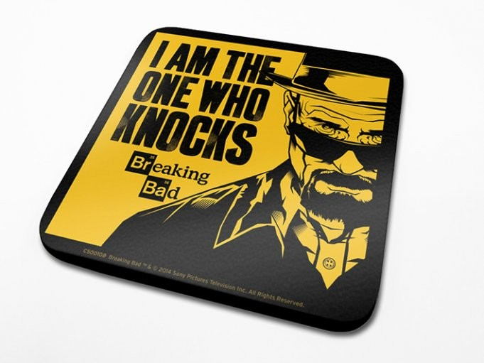 Breaking Bad - I Am The One Who Knocks Suporturi pentru pahare