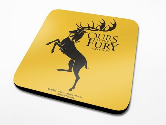 Game of Thrones - Baratheon Suporturi pentru pahare