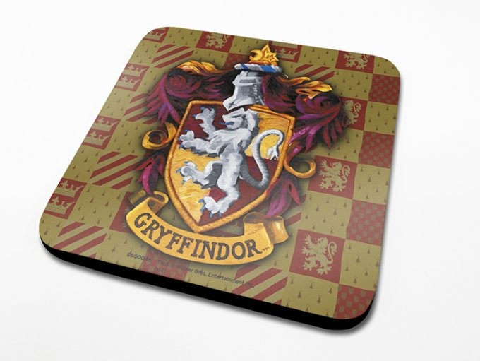 Harry Potter - Gryffindor Crest Suporturi pentru pahare