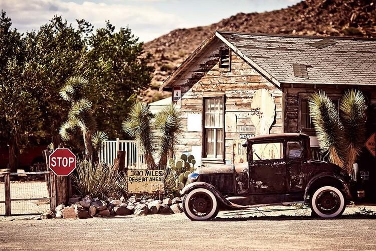 Szklany obraz Cars - Old car