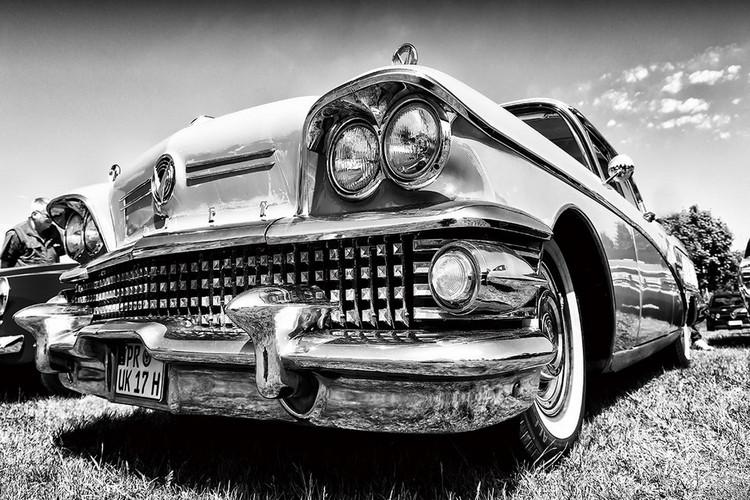Szklany obraz Cars - Retro Cadillac