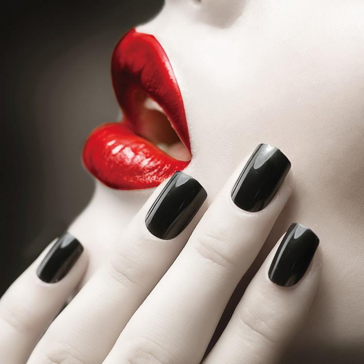 Szklany obraz Passionate Woman - Lips