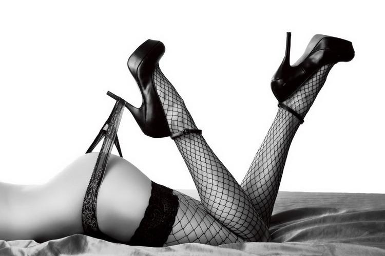 Szklany obraz Passionate Woman - Sexy Legs