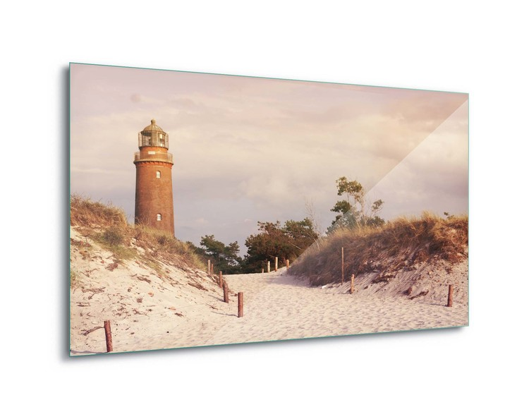 Szklany obraz  Pastel Lighthouse