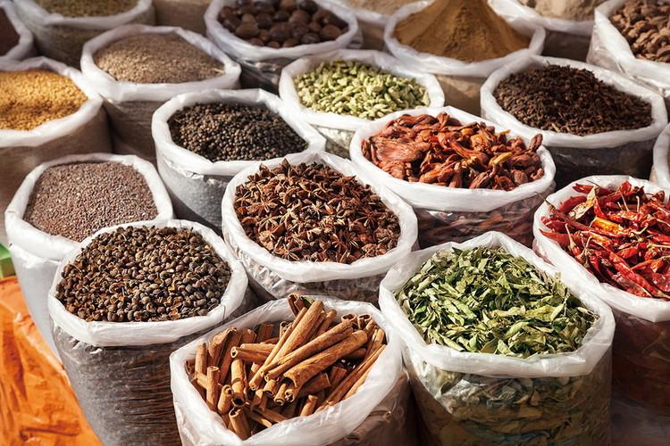 Szklany obraz Spices of Life