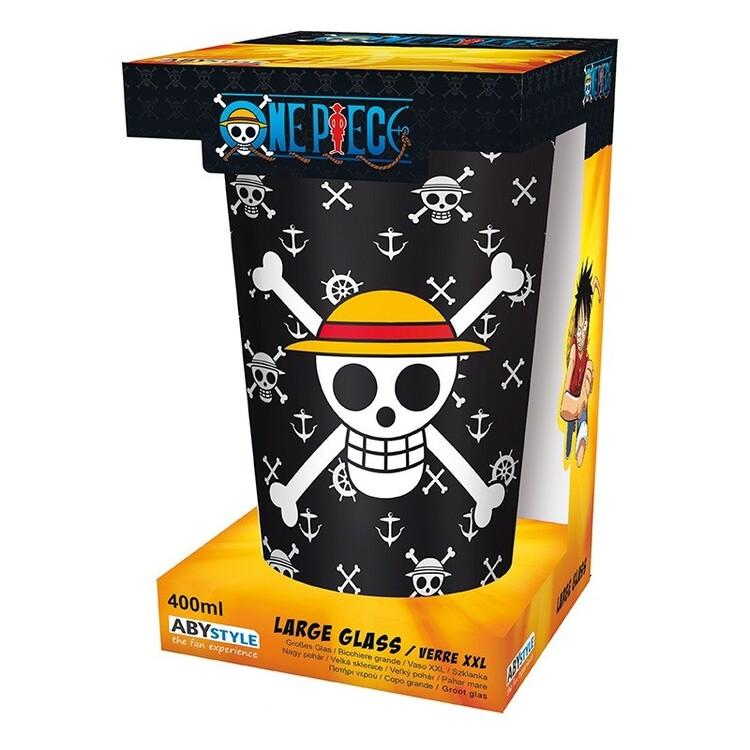 Szklanka One Piece - Luffy