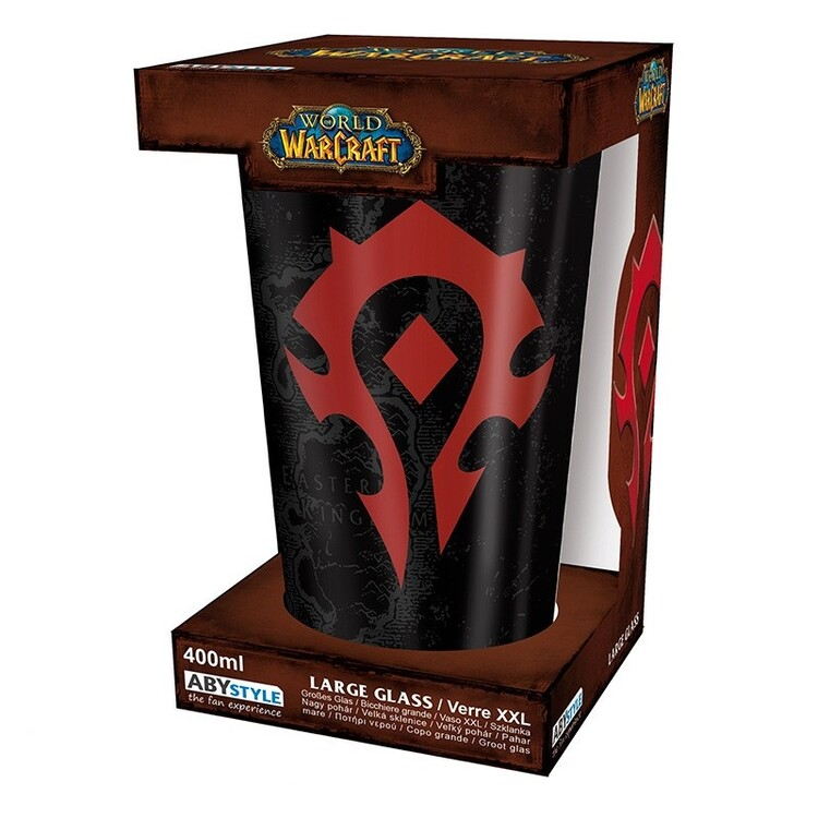 Szklanka World of Warcraft - Horde