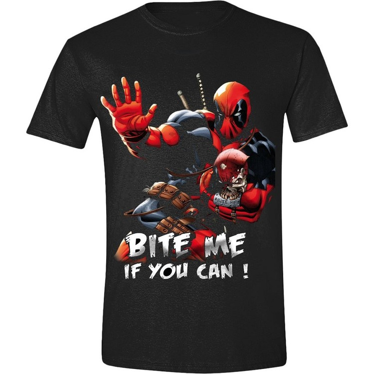 T-shirt  Deadpool - Bite Me!