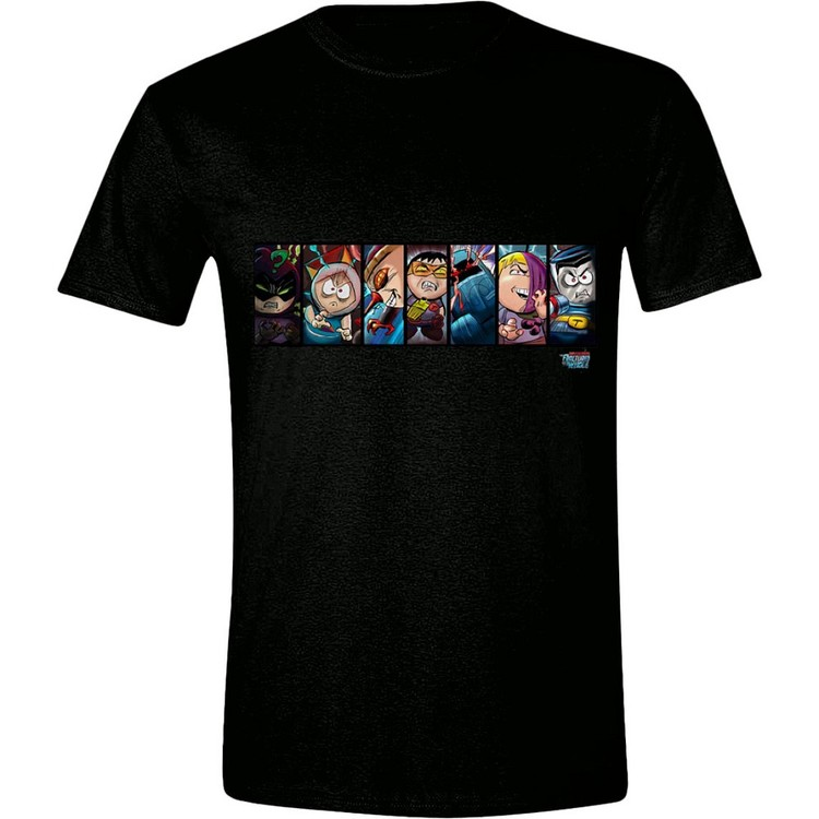 T-shirt  South Park - The Fractured But Whole Comic