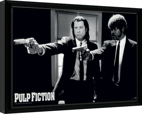 Poster encadré PULP FICTION - guns