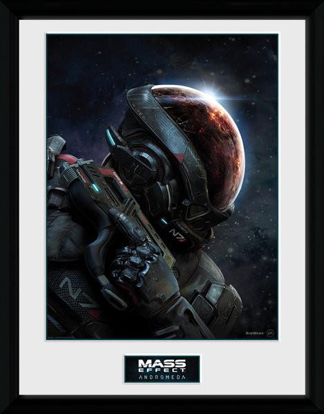 Mass Effect Andromeda Poster encadré