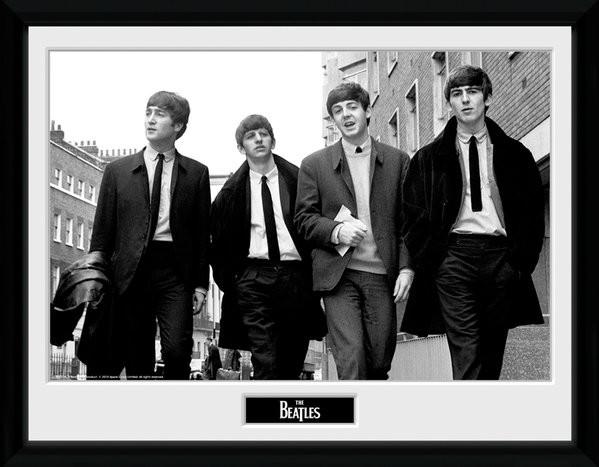 The Beatles - In London Poster encadré