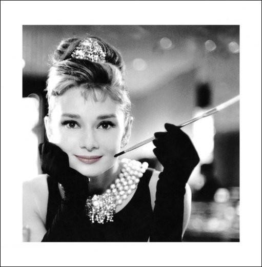 Audrey Hepburn - Smile Reproduction d'art