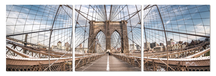 Brooklyn bridge Tableau Multi-Toiles