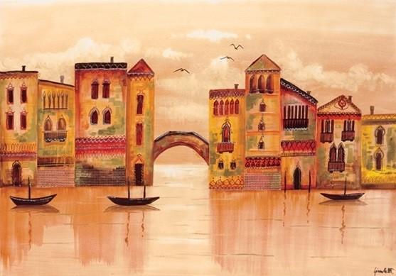 Brown Venice Reproduction d'art