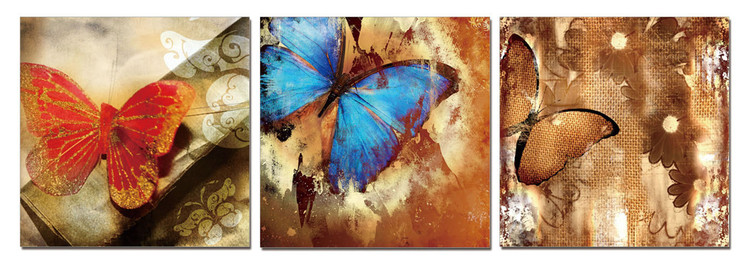 Butterfly - Art of Nature Tableau Multi-Toiles