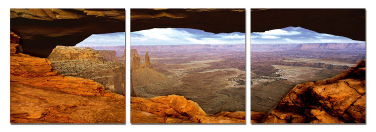Canyon Lands Tableau Multi-Toiles