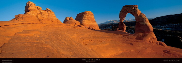 Delicate Arch Reproduction d'art