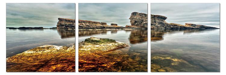 Deserted Coast Tableau Multi-Toiles