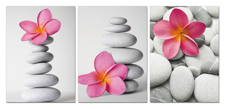 feng shui stones tableau mural acheter le sur. Black Bedroom Furniture Sets. Home Design Ideas