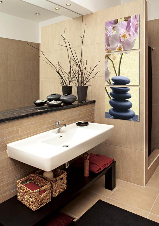 feng shui the stones tableau mural acheter le sur. Black Bedroom Furniture Sets. Home Design Ideas