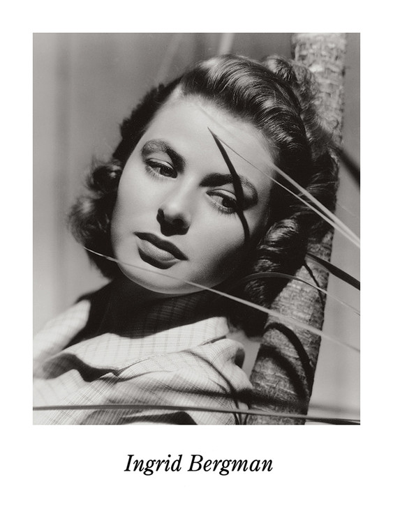 INGRID BERGMAN Reproduction d'art