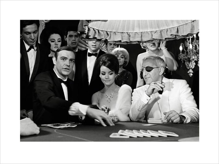 Reproduction d'art James Bond 007 - Thunderball