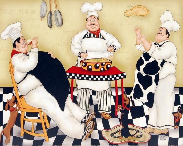 Kitchen Kapers I Reproduction d'art