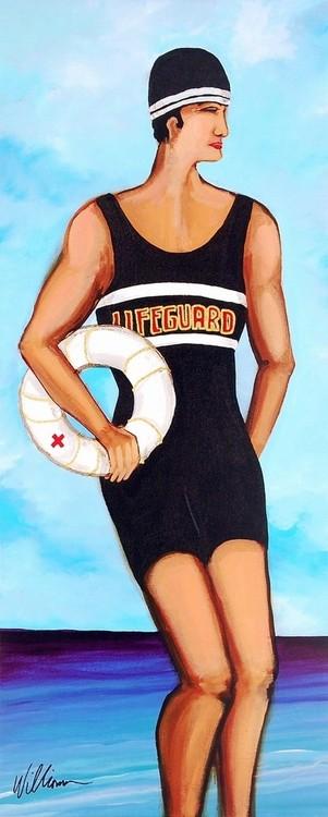 Lifeguard Reproduction d'art
