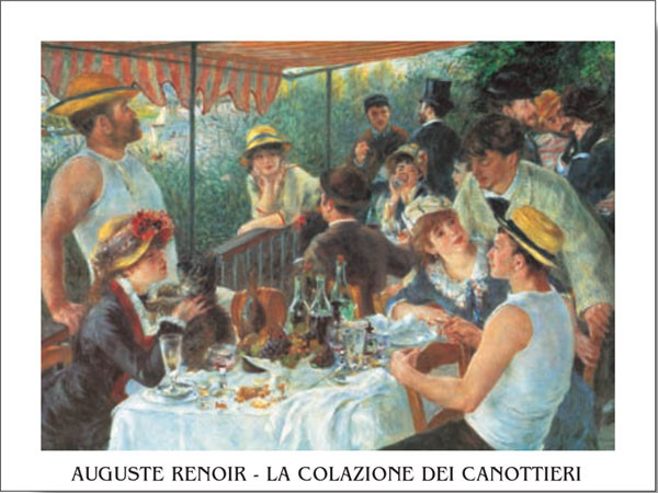 Luncheon of the Boating Party, 1880-81 Reproduction d'art