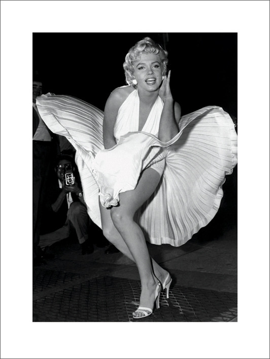 Marilyn Monroe Reproduction d'art