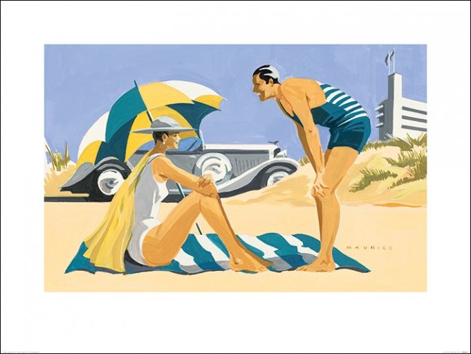 Mike Maurice - Sand Dunes Reproduction d'art