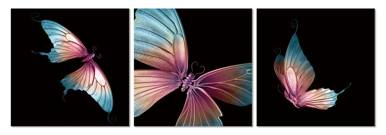 Modern design - butterfly Tableau Multi-Toiles