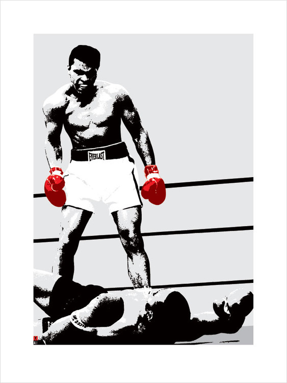 Muhammad Ali - Gloves Reproduction de Tableau