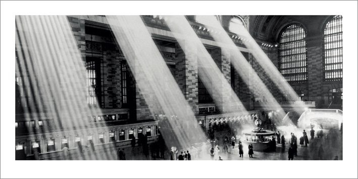 New York - Grand central terminal Reproduction d'art