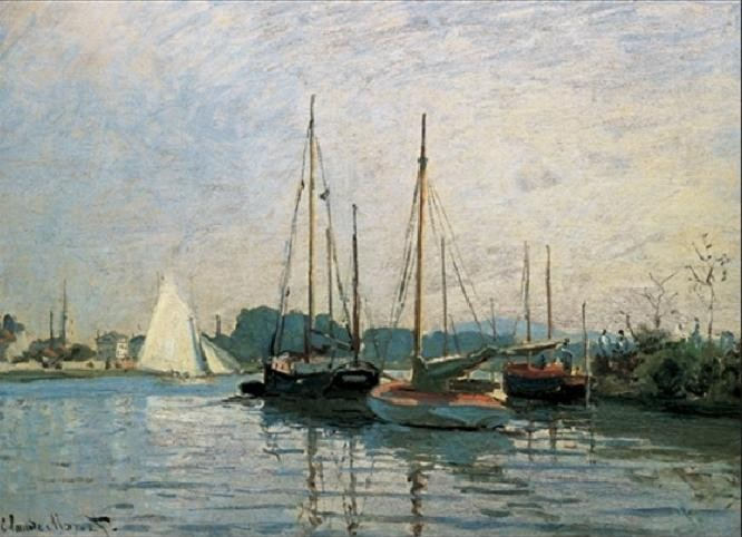 Pleasure Boats, Argenteuil, 1872-3 Reproduction d'art