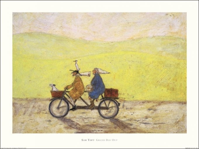 Reproduction d'art Sam Toft - Grand Day Out