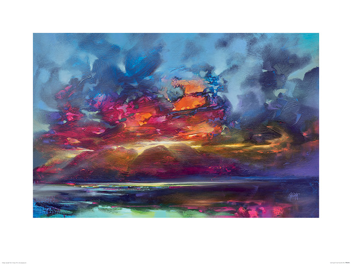 Scott Naismith - Island Light Reproduction d'art