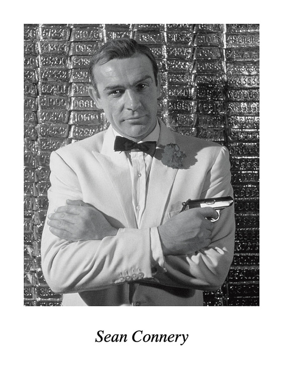 SEAN CONNERY Reproduction d'art