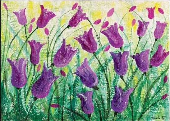 Spring Flowers Reproduction d'art