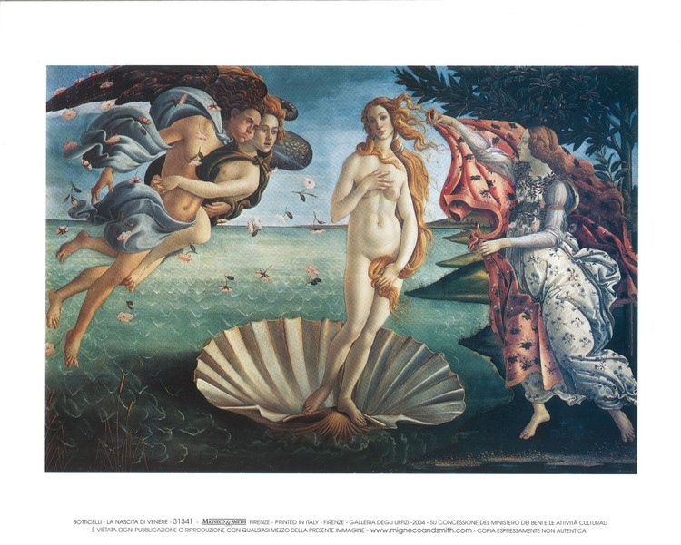 The Birth of Venus Reproduction d'art